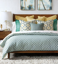 Twin Palms Geometric Duvet Cover and Comforter