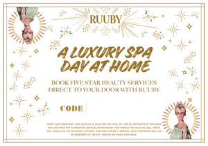 Ruuby Voucher for A Luxury Spa Day at Home