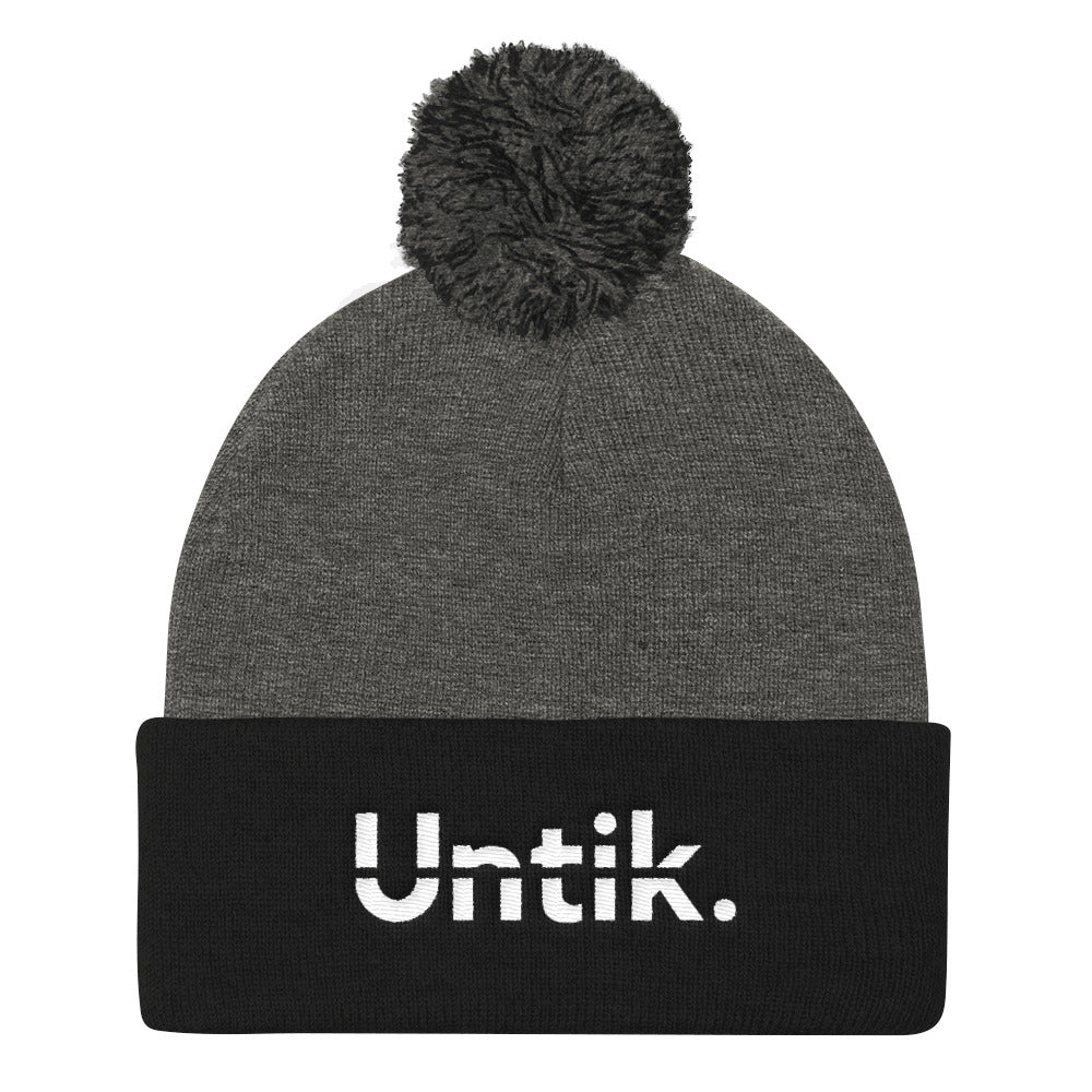 Untik. Embroidered Beanie -  - Untik