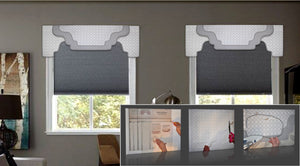 Traceable Designer multi-style DIY valance kit. Make custom valances without sewing!