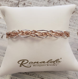 Rose Colored Glasses Bracelet