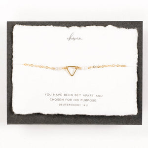 Dear Heart Designs - Chosen Bracelet 14kt Gold Fill