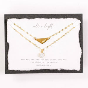 Dear Heart Designs - Salt + Light 14kt Gold Filled