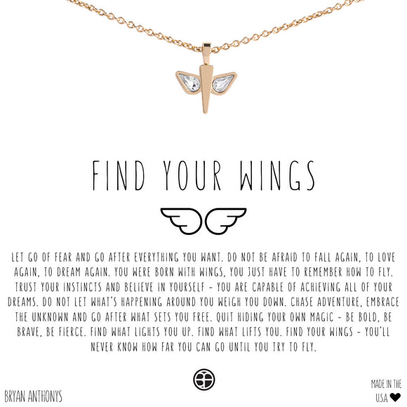 Find Your Wings Necklace