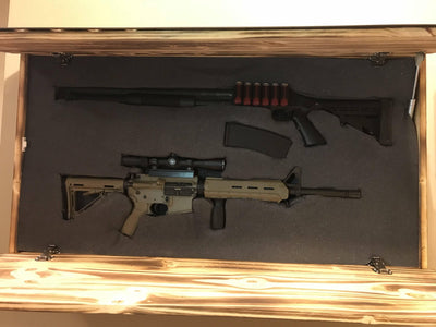 Home Defense Cabinet 4 Foot