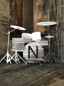 Drum Set Monogram