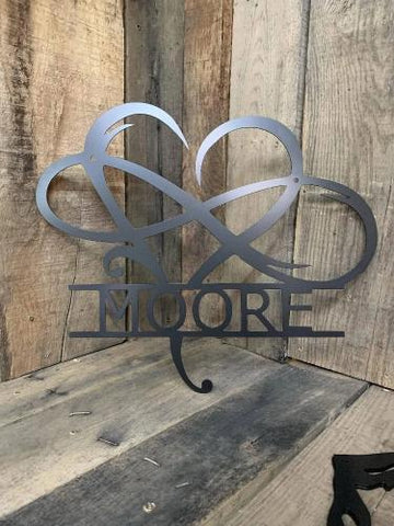 Image of INFINITY HEART MONOGRAM