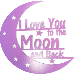 I Love You to the Moon and Back - Purple ( Limited Quantity)