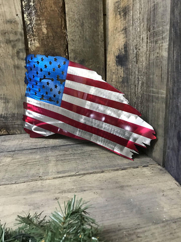 "Image of 23"" Tattered American Flag"