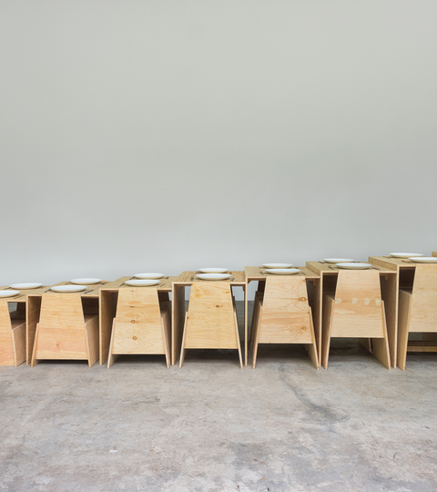 MOMA's Steps Table by Lanza Atelier