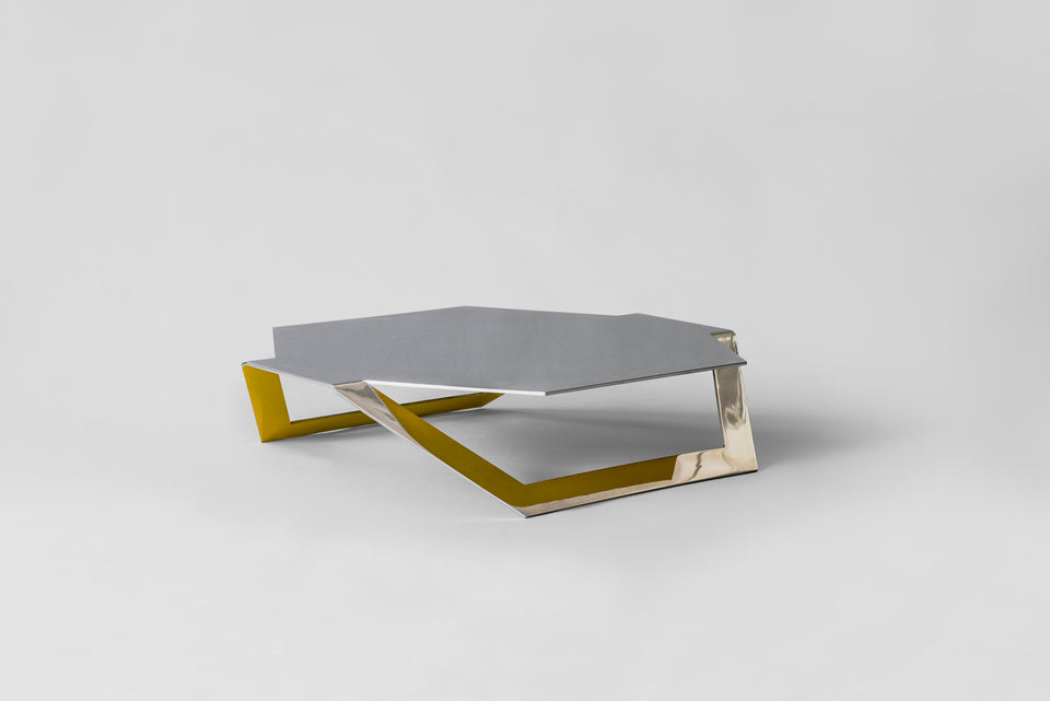 Hexagon Coffee table | Pedro Ram'rez V‡squez | bent sheet metal