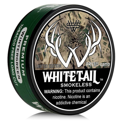 Tobacco free chewing tobacco alternative - Wintergreen Prym1 camo