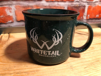 Whitetail Smokeless 15 oz. ceramic coffee mug