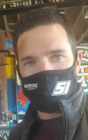Official Jeremy Clements NASCAR Facemask
