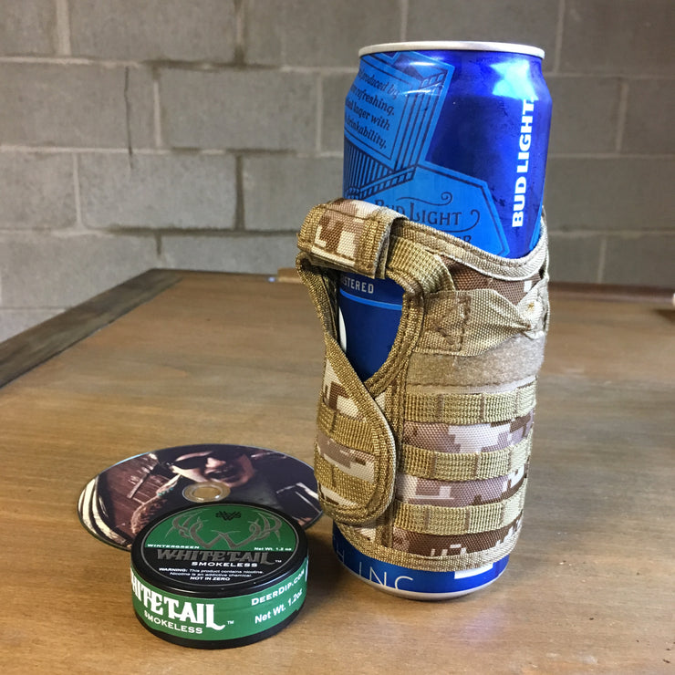 Flack jacket bullet proof vest beer koozie