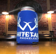 Mint Blue Whitetail Smokeless Beer/Soda Koozie Can Cooler