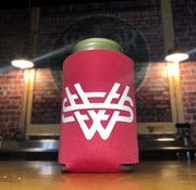Straight Red Whitetail Smokeless Beer/Soda Koozie Can Cooler