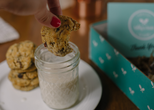 about our vegan cookie business