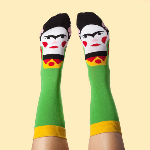 Calcetines de Chatty Feet inspirados en Frida Kalho