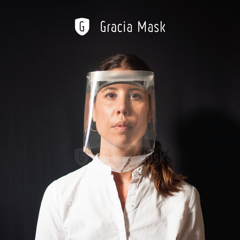 Facial Shield protection Gracia Mask by Materia Rica
