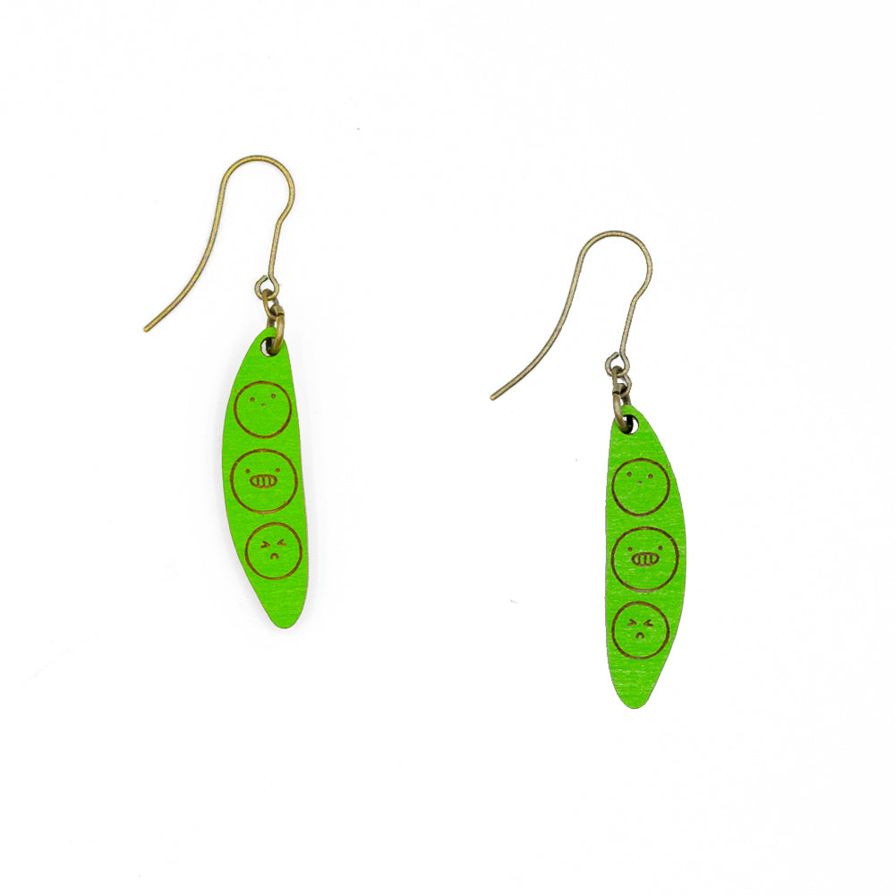 Green Buddies Earrings
