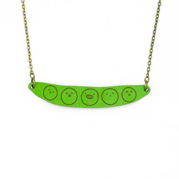 Green Buddies Necklace