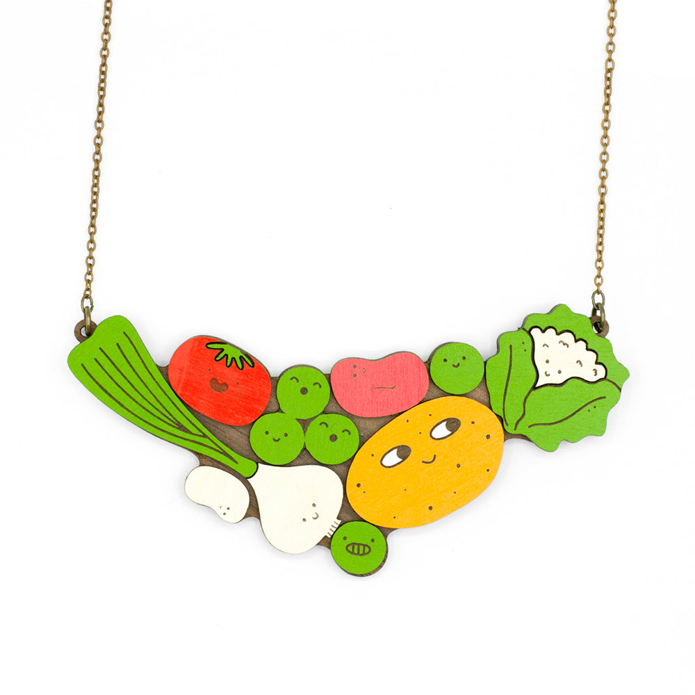 Vegan Party Necklace