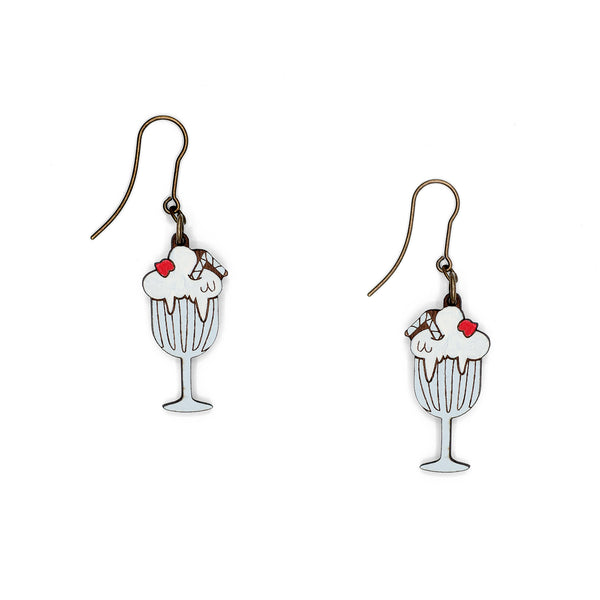 Milkshake Earrings