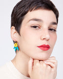 Little Garden Hoop Earrings