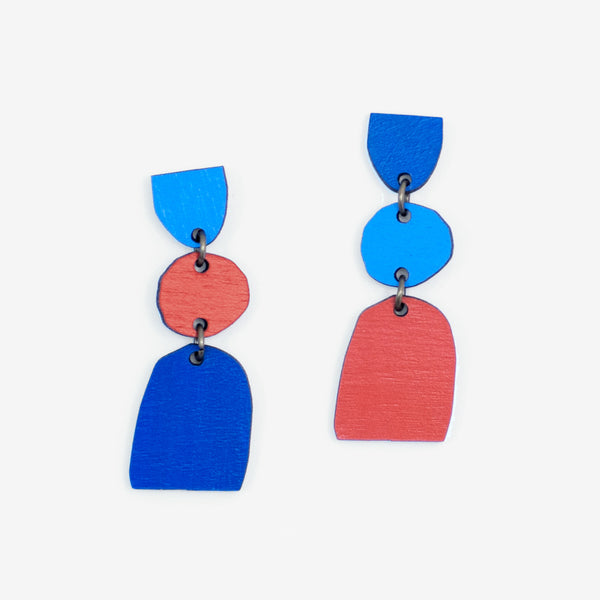 Compositon #22 Earrings