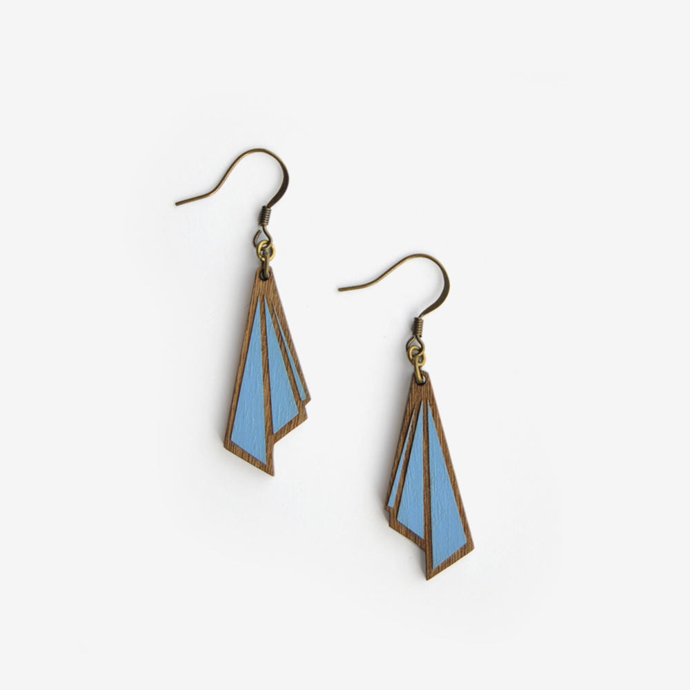 Huître Royal Cobalt Earrings