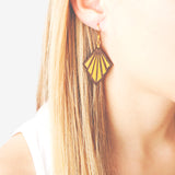 Goutte Lemon Earrings