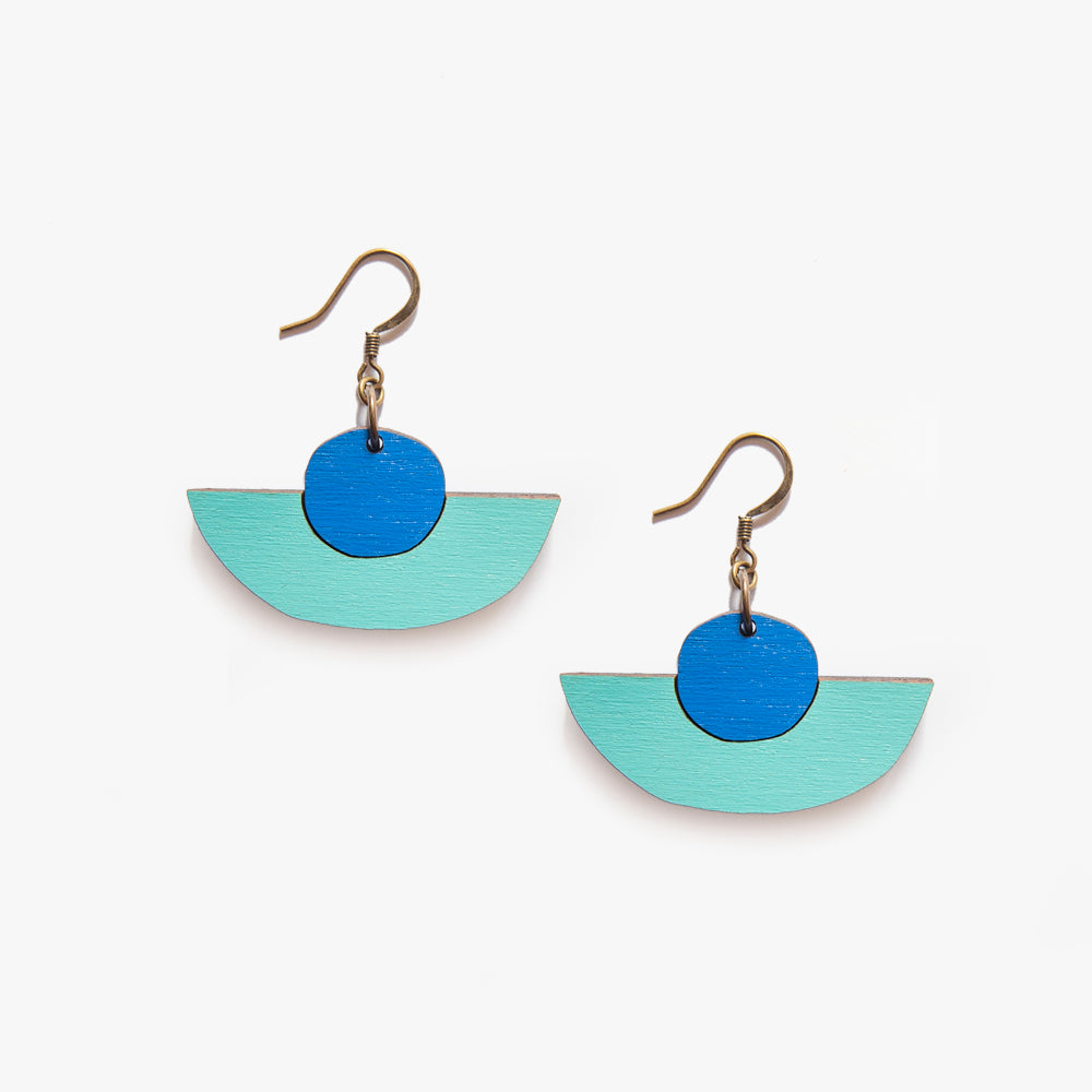 Uhde Blue Earrings