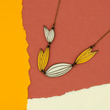 Madagascar Leaf Necklace