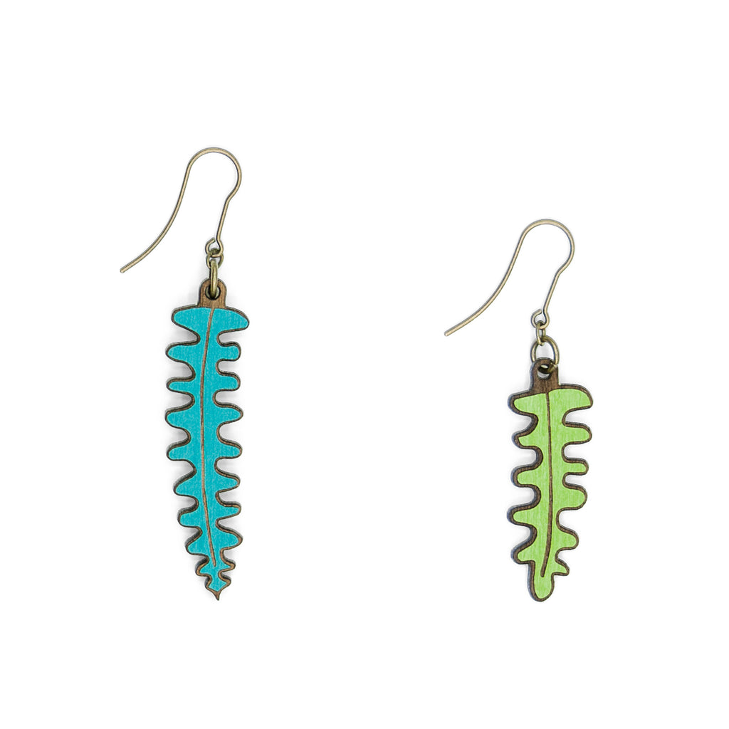 Fern Hook Earring