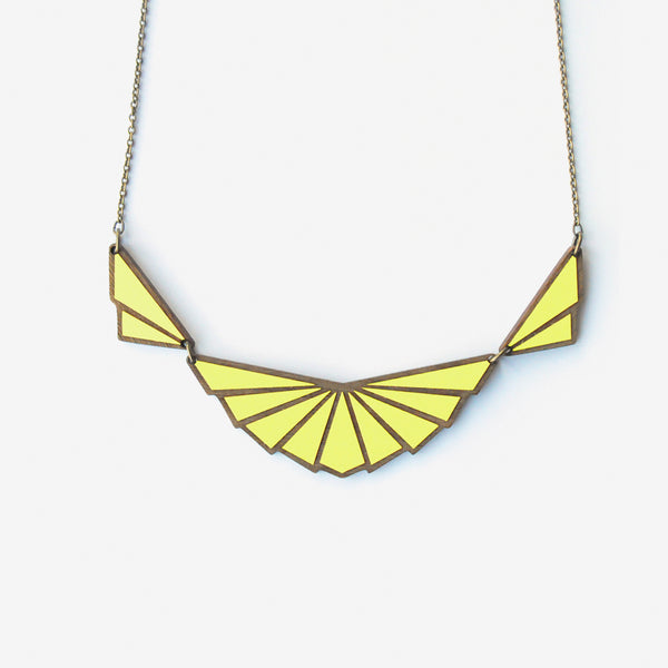 Hirondelle Lemon Necklace