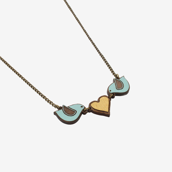 Blue Love Necklace