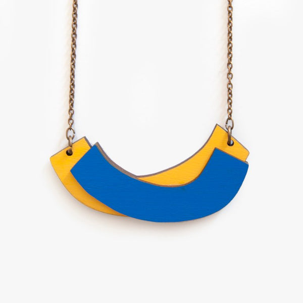 The Quilt Cobalt Necklace