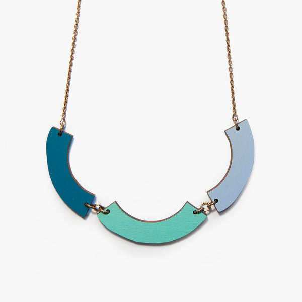 IBERIAN SUN Teal Necklace
