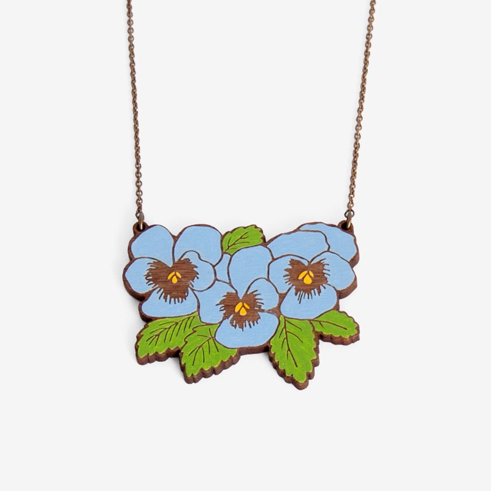 Pansy Large Necklace