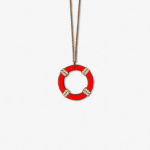 Large Lifesaver Necklace