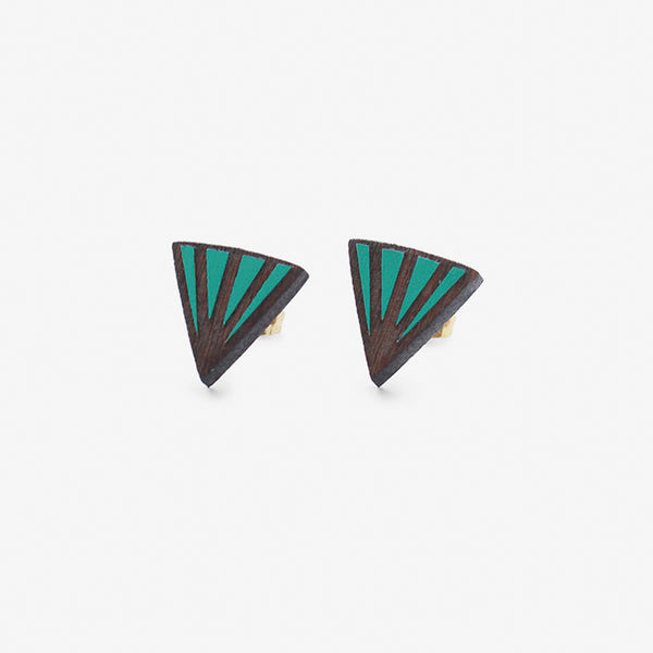 Cligner Teal Earrings