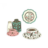 Tea Set Brooch