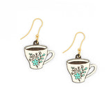 Teacup Earrings