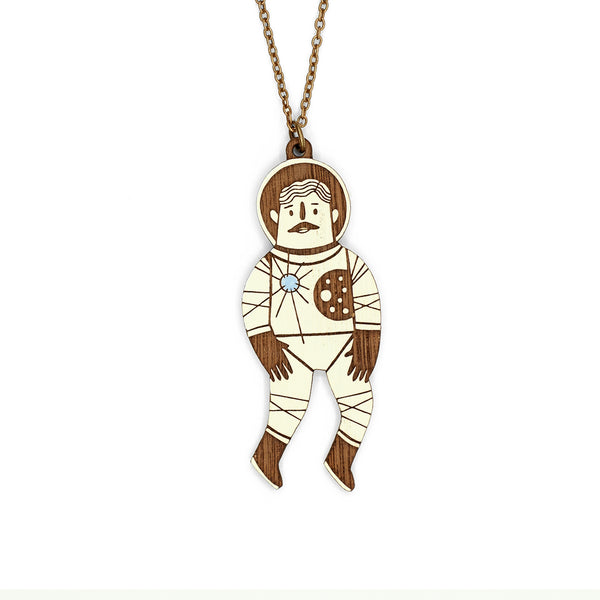 Pilot Astronaut Necklace