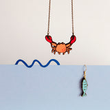 Mr.Crab Necklace