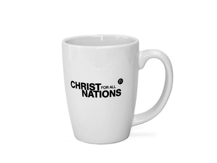 Christ for all Nations TV Mug (White) - Christ For All Nations Store - Christian Products