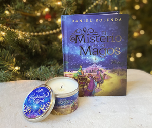 El Misterio de los Magos Book & Candle (Mystery of the Magi) - Christ For All Nations Store - Christian Products