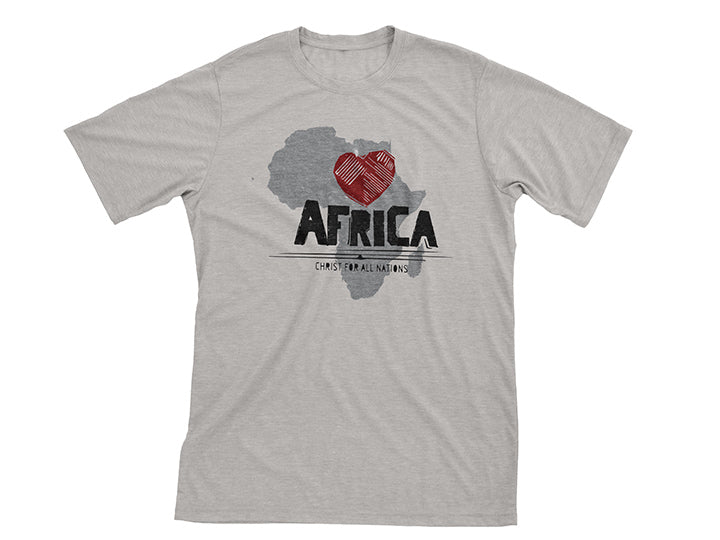 I Love Africa (T-shirt) - Christ For All Nations Store - Christian Products