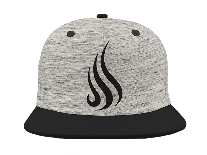 Flame Hat (Grey) - Christ For All Nations Store - Christian Products